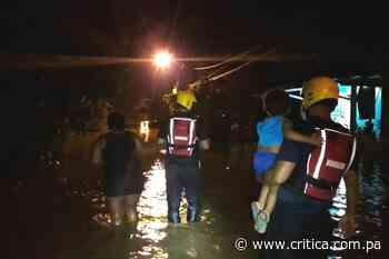 Desborde del río Tonosí deja varias casas afectadas y personas evacuadas - Crítica Panamá
