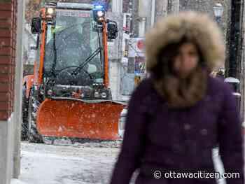 Getting around: see snow, go slow, school bus delays, winter parking ban in effect