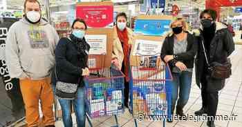À Guingamp, une collecte de produits d'hygiène intime - Le Télégramme