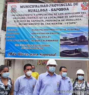 Remodelan y amplían Mercado de Saposoa - DIARIO AHORA