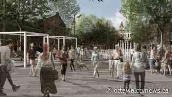'Pedestrians come first': Ottawa unveils plans new for pedestrian promenades and public spaces in ByWard Market - CTV Edmonton