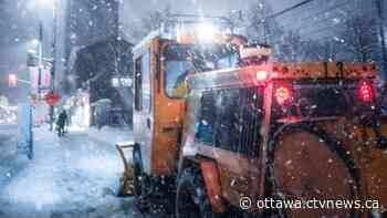 Snowfall warning: 15-20 cm of snow possible for Ottawa today and Monday - CTV News Ottawa