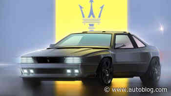 Maserati Shamal restomod is sketched out and could become reality