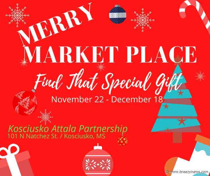 Merry Marketplace open now in downtown Kosciusko