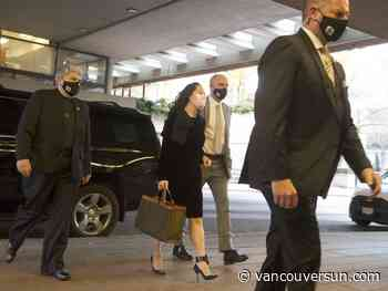 Hearing continues in extradition case involving Huawei executive Meng Wanzhou