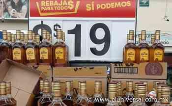 Por error en etiqueta, venden 81 botellas de tequila a ¡19 pesos! | El Universal - El Universal