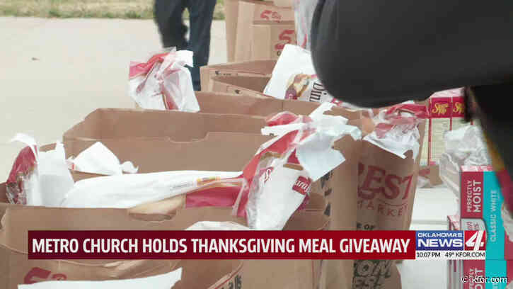 Local ministry providing Thanksgiving meals to those in need