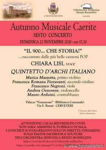 """Cerveteri, Orchestra Sinfonica Rossellini in scena con """"Il 900...che storia"""" - TerzoBinario.it"""