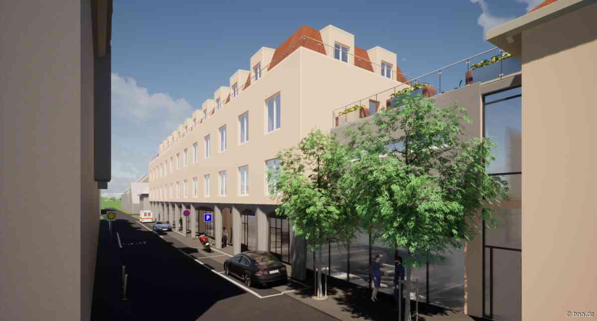 Im Herzen von Rastatt entsteht ein großes Ärzte- und Wohnhaus - BNN - Badische Neueste Nachrichten