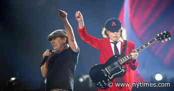 AC/DC Debuts at No. 1, Powered by CD Sales