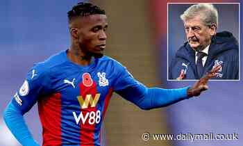 Crystal Palace star Wilfried Zaha self-isolating after testing positive for coronavirus