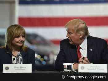 GM no longer backs Trump effort to bar California emissions rules