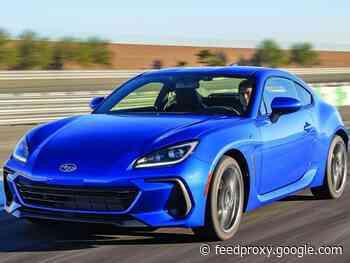 Subaru boosts sports car feel in 2022 BRZ