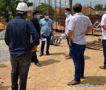 Coordenador do PRO Piauí visita obras da adutora do litoral - Parnaiba - Cidadeverde.com
