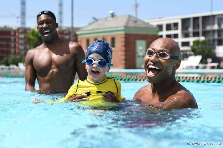 Olympian Cullen Jones Joins USA Swimming Foundation Board of Directors