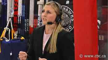 Chicago NHL team hires Kendall Coyne Schofield as its 1st female development coach