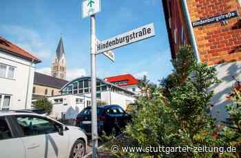 Debatte in Salach: Hindenburgstraße bleibt Hindenburgstraße - Landkreis Göppingen - Stuttgarter Zeitung