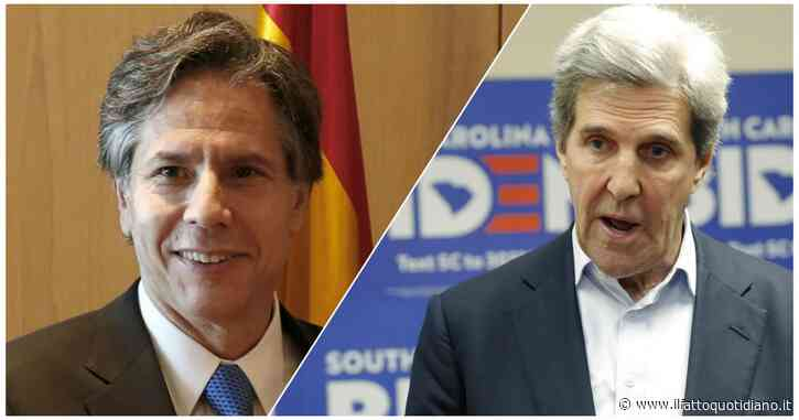Usa, ecco tutte le nuove nomine di Joe Biden: Anthony Blinken nuovo segretario di Stato Usa, John Kerry inviato per il clima