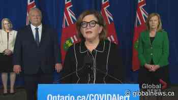 Coronavirus: Yaffe defends lockdown in Toronto, Peel region as necessary