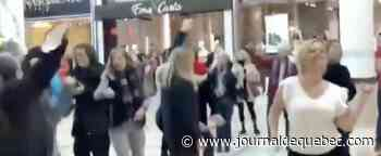 Amendes salées pour l'organisatrice du party de covidiots dans un centre commercial