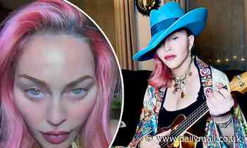 Madonna, 62, shows off her VERY smooth looking skin as she strikes a pose on Instagram