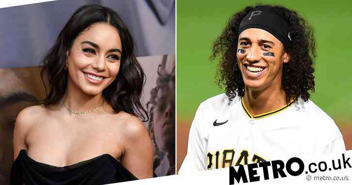 Vanessa Hudgens, 31, holds hands with baseball player Cole Tucker, 24, during flirty date
