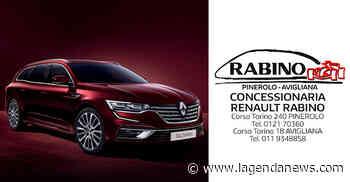 Scoprite la nuova Renault Talisman alla Concessionaria Rabino di Avigliana, aperta e operativa con tutti i - http://www.lagendanews.com