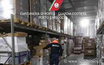 Porto Empedocle: sequestrati 433 kg di prodotto ittico, 1.300 metri di rete ed elevate sanzioni per 10 mila euro - Scrivo Libero