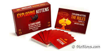 Black Friday family board games from $8: Exploding Kittens, Monopoly, more - 9to5Toys