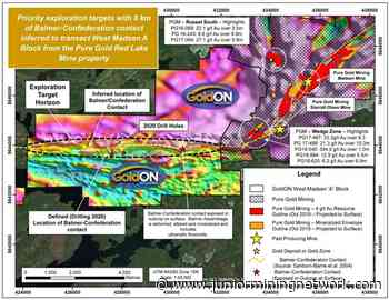 GoldON Resources Hires Chibougamau Diamond Drilling for West Madsen Gold Project in Ontario's Red Lake Camp - Junior Mining Network