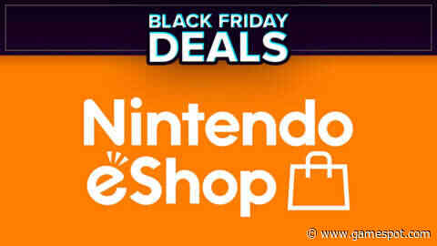 Black Friday Nintendo Switch Sale Live Now On The eShop