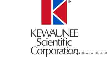 Kewaunee Scientific to Report Results for Second Quarter Fiscal Year 2021 Release Date