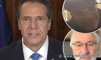 Cuomo nauseating Emmy acceptance speech with taped messages from celebrities
