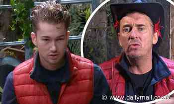 I'm A Celebrity 2020: AJ Pritchard and Shane Richie have a tiff over dirty PANS