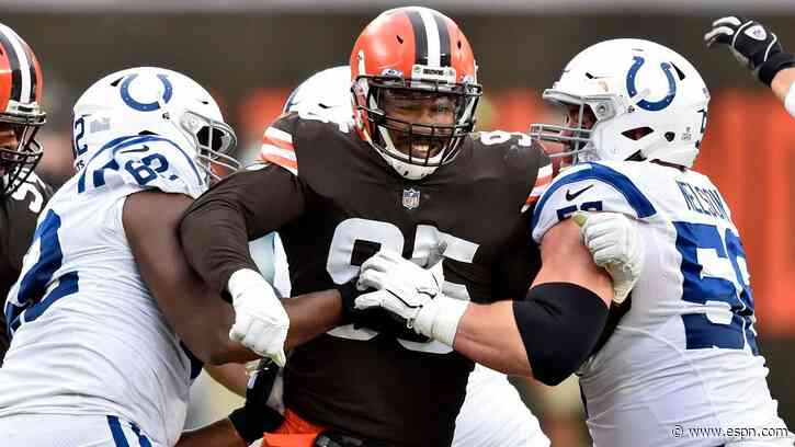 Cleveland Browns to be without Myles Garrett for 2nd straight game - ESPN