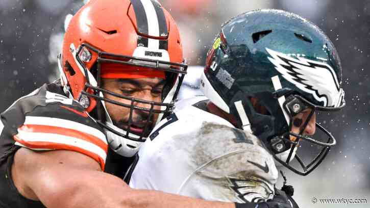 Cleveland Browns defense rallies around Myles Garrett absence: Jay Crawford on that win against the Philadelphia Eagles - WKYC.com