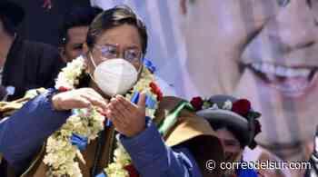El MAS considera posesión simbólica ancestral de Luis Arce en Tiahuanaco - Correo del Sur