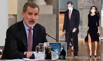 Spain's King Felipe VI is self-isolating after meeting someone who tested positive for Covid-19