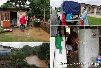 Río Caimito de La Chorrera se desborda y afecta 45 casas - Día a día