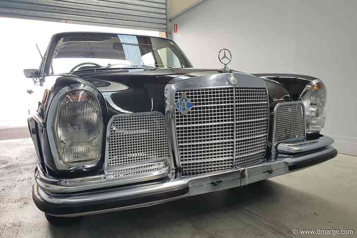 'Perfect Summer Cruiser' Retro Mercedes-Benz On Sale In Queensland