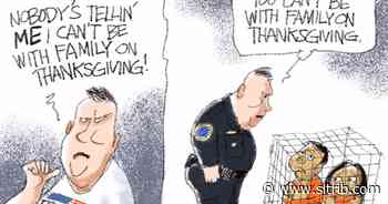 Bagley Cartoon: You Can't Go Home Again