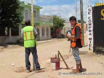 Lluvias afectan trabajos en Peto - El Diario de Yucatán