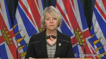 B.C. health officials report 1,933 new COVID-19 cases, 17 deaths over three days