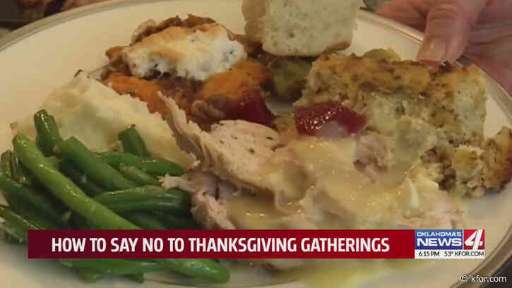 OKC etiquette expert says respect is key when turning down or canceling holiday plans