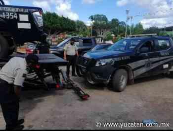 Por los suelos la imagen de los policías de Muna - El Diario de Yucatán