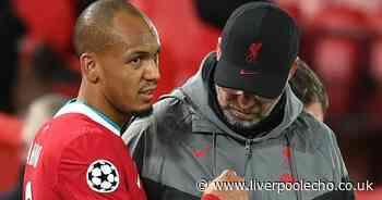 Jurgen Klopp faces Fabinho decision as Liverpool consider forward overhaul