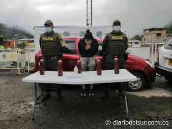 Cayó por transportar 8.5 kilos de cocaína en Mallama - Nariño - Diario del Sur