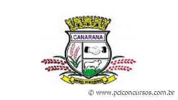 Prefeitura de Canarana - MT retifica novo Processo Seletivo - PCI Concursos