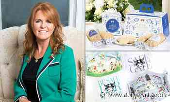 Sarah Ferguson sells a costly cuppa - but it's all for chari-tea!