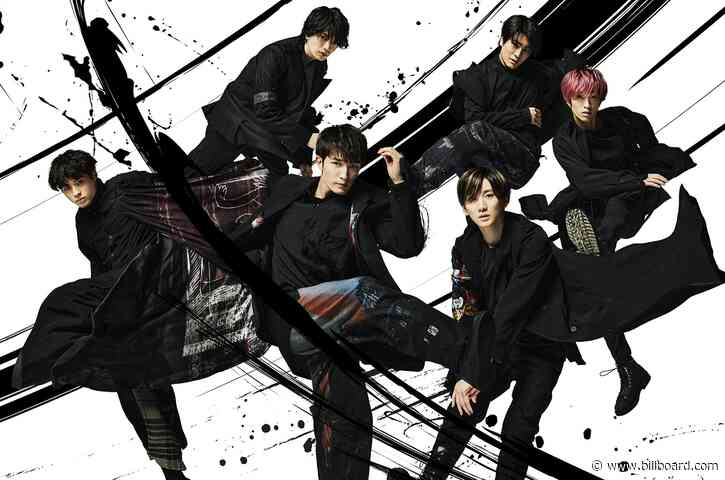 SixTONES Shoot to No. 1 on Japan Hot 100